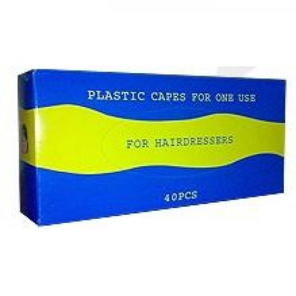 Plastic Capes For One Use 40pcs