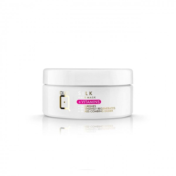 Hair Mask Quin with silk and vitamins 250g