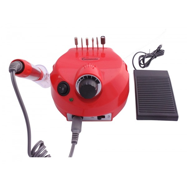 Nail Drill 30.000 Rpm AestheticUSA Red ND-014