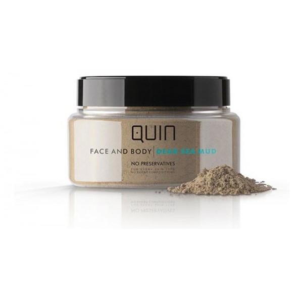 QUIN 100% Natural Pure Dead Sea Mud Mask for Face and Body