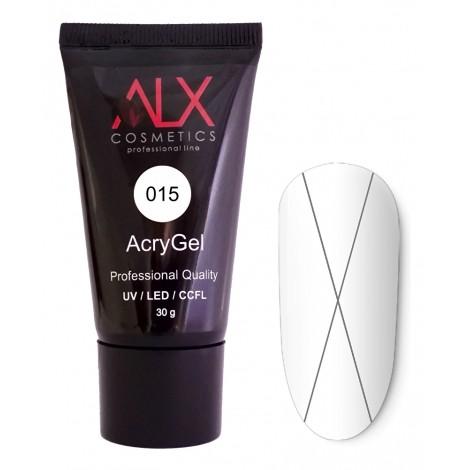ALX Acrygel Νο 015 (Διαφανές / Clear) (30 γρ. σωληνάριο)