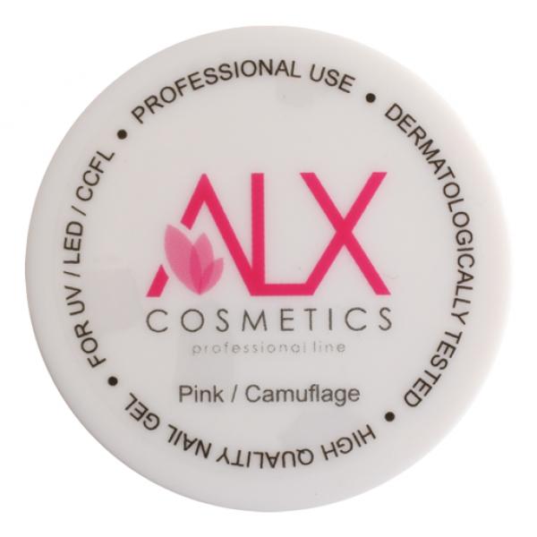 ALX Builder Gel Pink/Camuflage 15 ml  (Medium Viscosity)