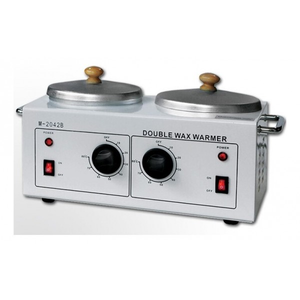 Double wax heater